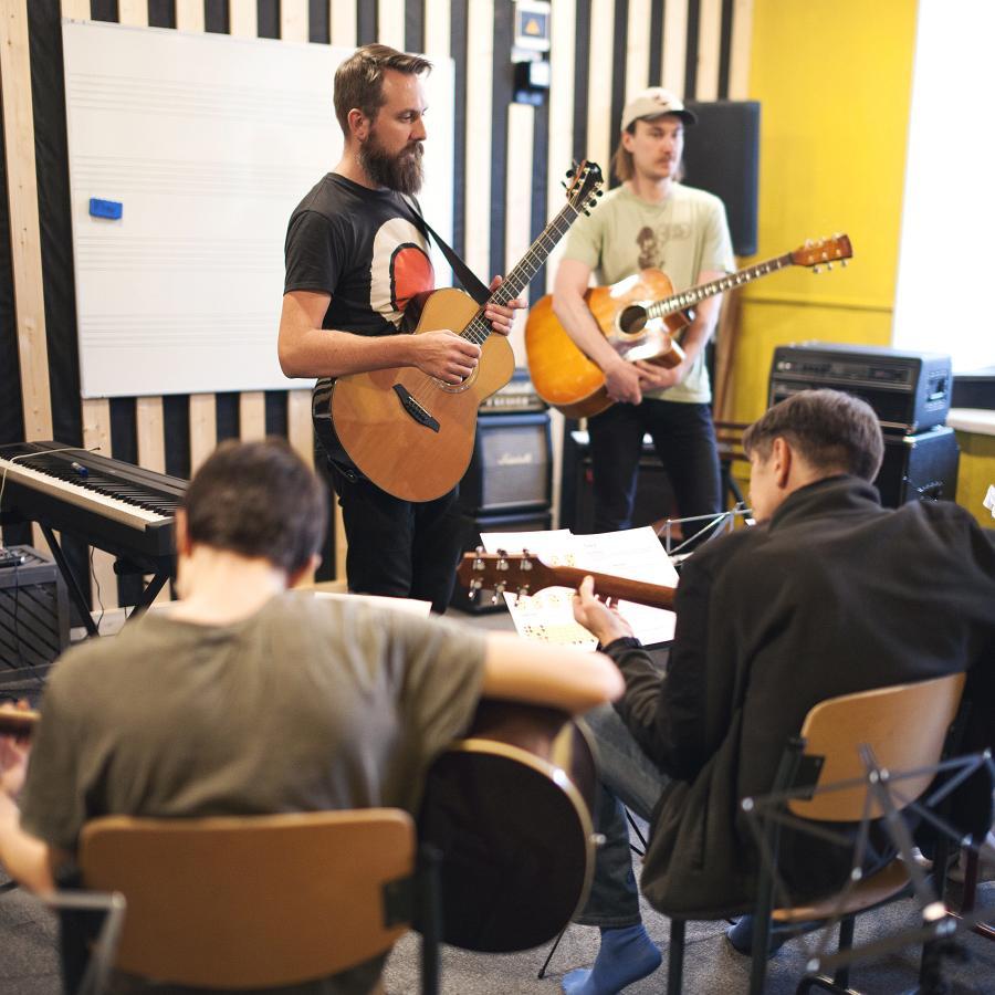 Kitarrikursused algajatele ja alustajatele